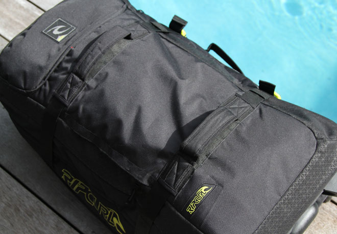 Road Test | Rip Curl Global F-Light Wheeled Bag | Carryology