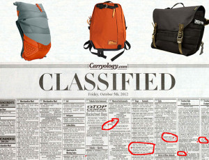 Carryology Classifieds