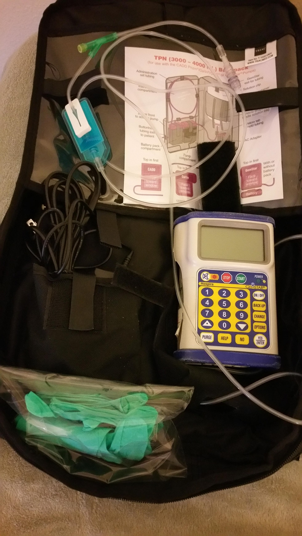 IV Nutrition Backpack Project