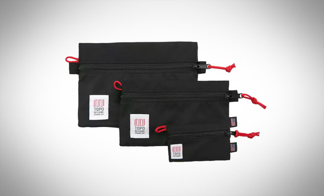 Topo Designs Accessory Bag - 3 Pack