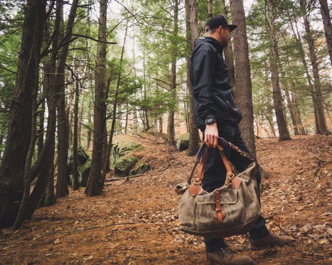 Tanner Goods Nomad Duffel Carrying
