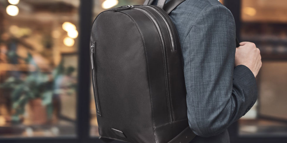 5 Stylish All Black Office Backpacks For Men