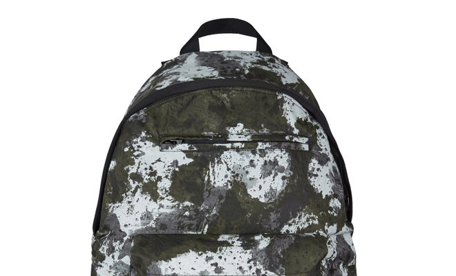 camo patterns backpack - stone island