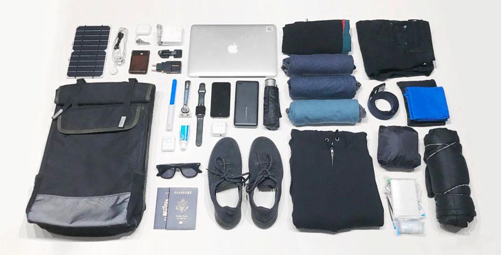 Minimal Travel Packing List: 2 Years Living Out of One Bag - Carryology - Exploring better ways to carry
