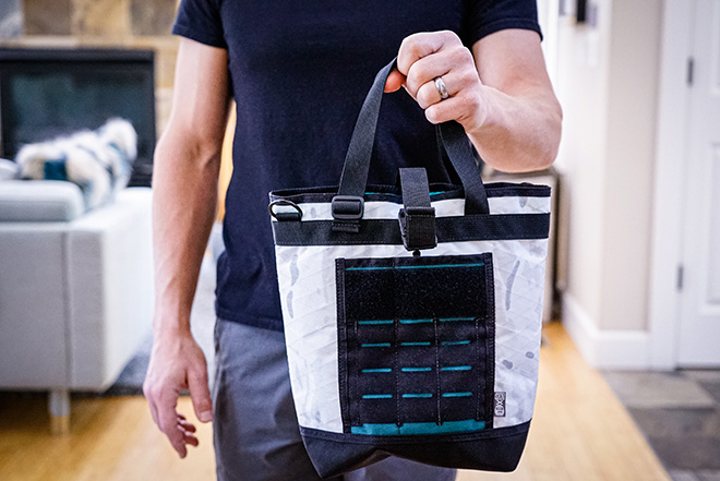 White X-Pac Skinth Brunch 4 Tote