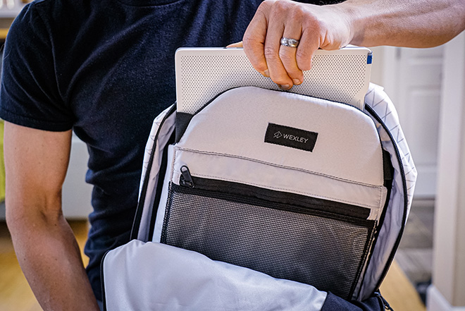 White X-Pac Wexley Stem Backpack